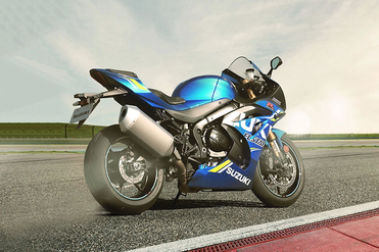 Suzuki GSX R1000R Rear Right View