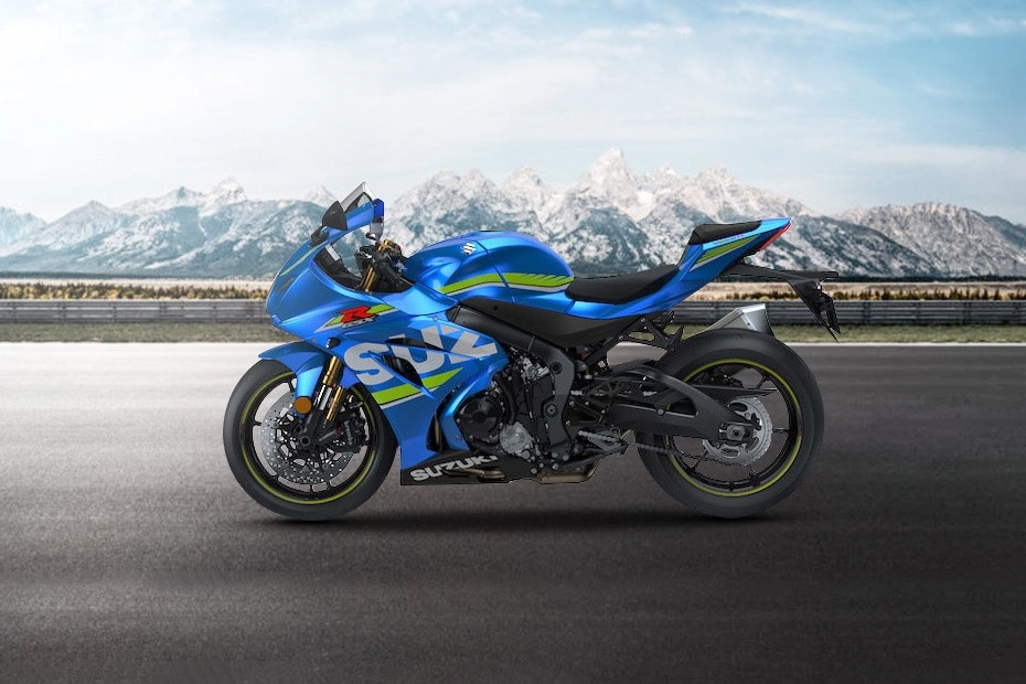 Suzuki GSX R1000R Left Side View