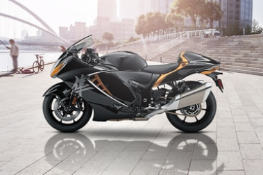 2021 Suzuki Hayabusa Left Side View