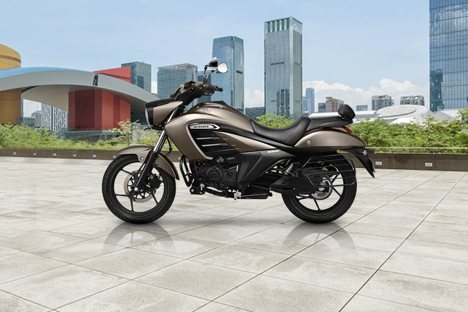 Suzuki Intruder Left Side View