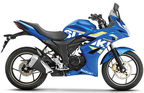 Suzuki Gixxer SF Blue