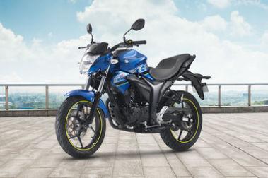 Suzuki Gixxer (2014-2018) Front Left View