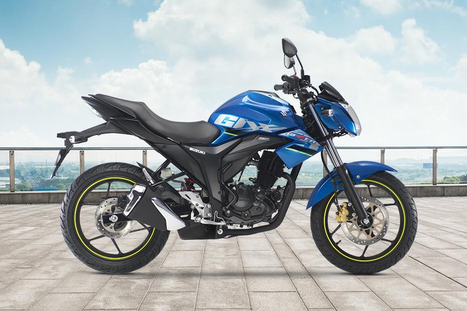 Suzuki Gixxer (2014-2018) Right Side View