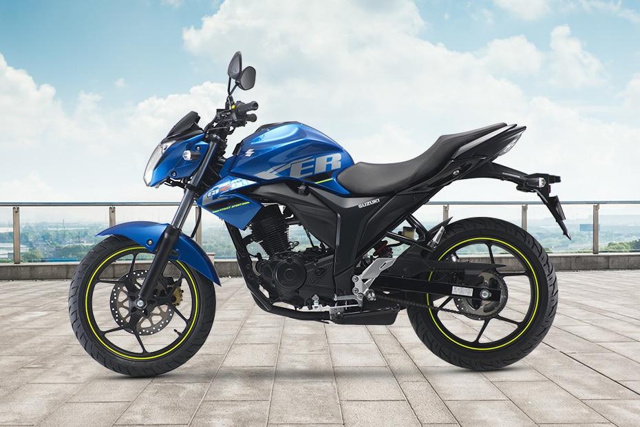 Suzuki Gixxer (2014-2018) Left Side View