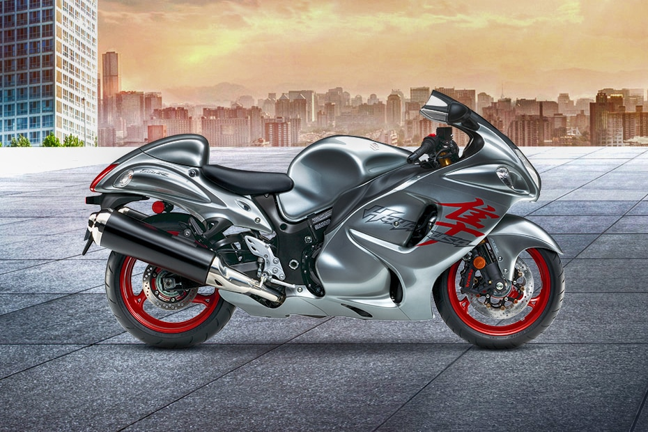 Suzuki Hayabusa Right Side View