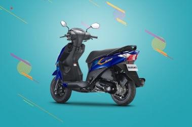 Suzuki Let's Rear Left View
