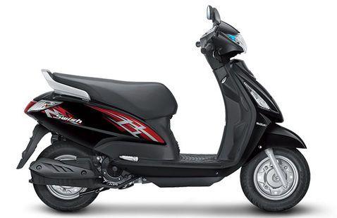 Suzuki Swish Glass Sparkle Black