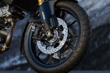 Suzuki V Strom 1000 Front Brake View