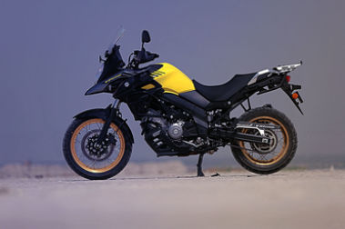 Suzuki V-Strom 650XT Left Side View