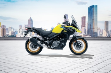 Suzuki V-Strom 650XT Right Side View