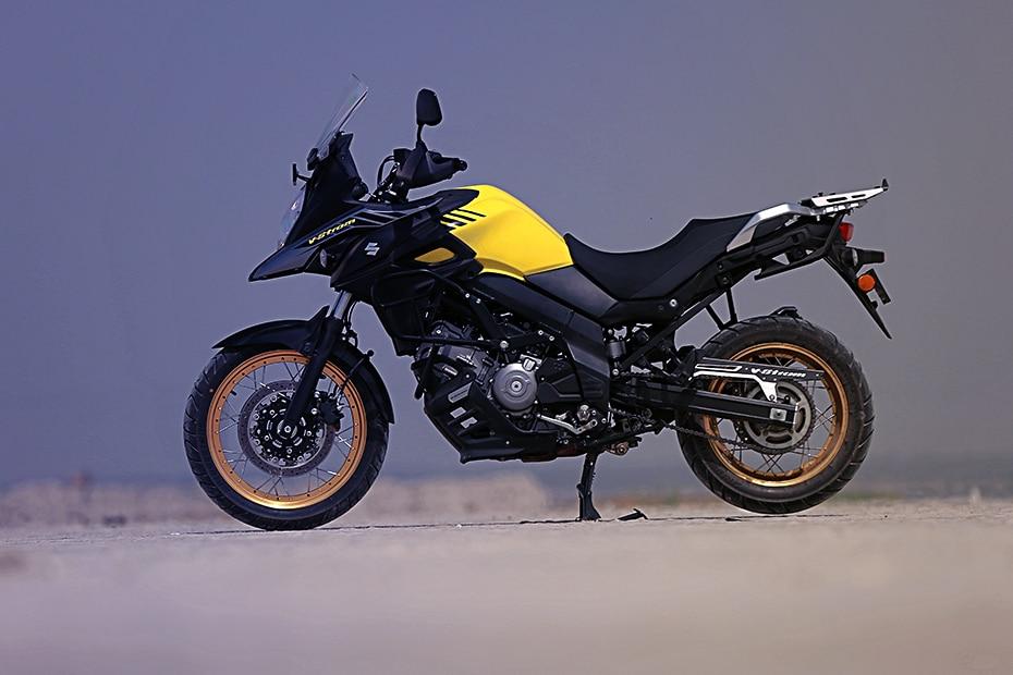 Suzuki V-Strom 650XT Left Side View