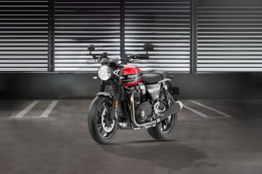 Triumph Speed Twin Front Left View