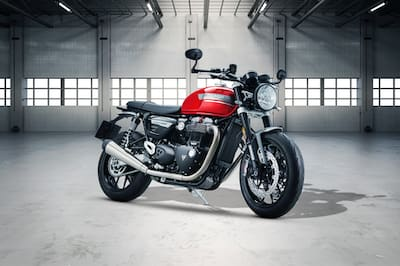 Triumph Speed Twin Front Right View