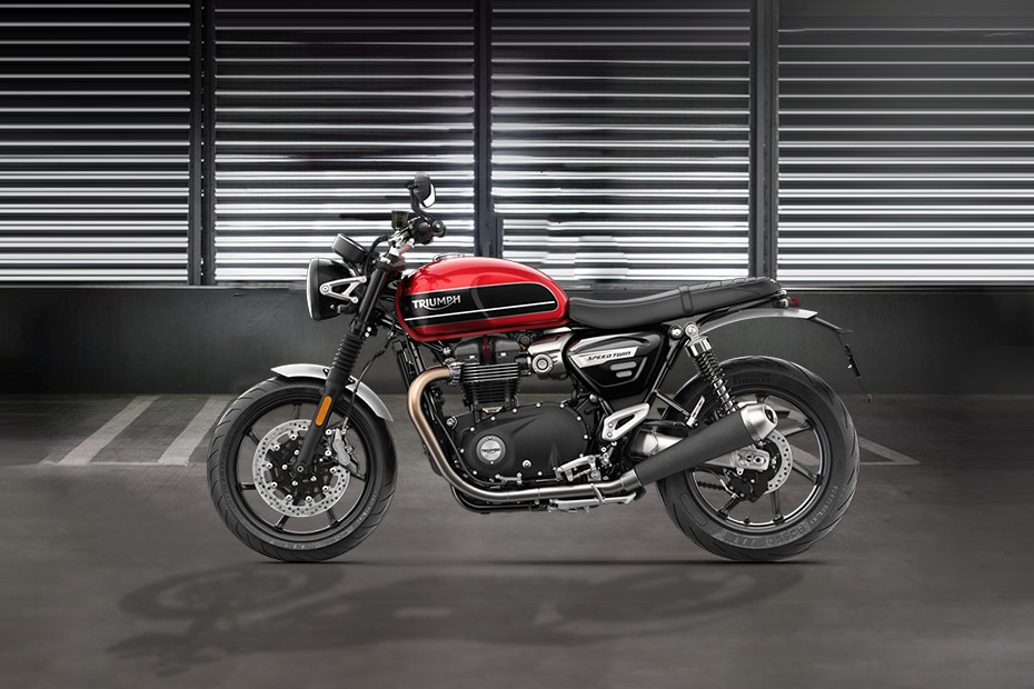 Triumph Speed Twin Left Side View