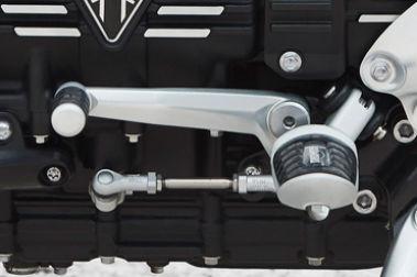 Triumph Rocket 3 R Gear Level View