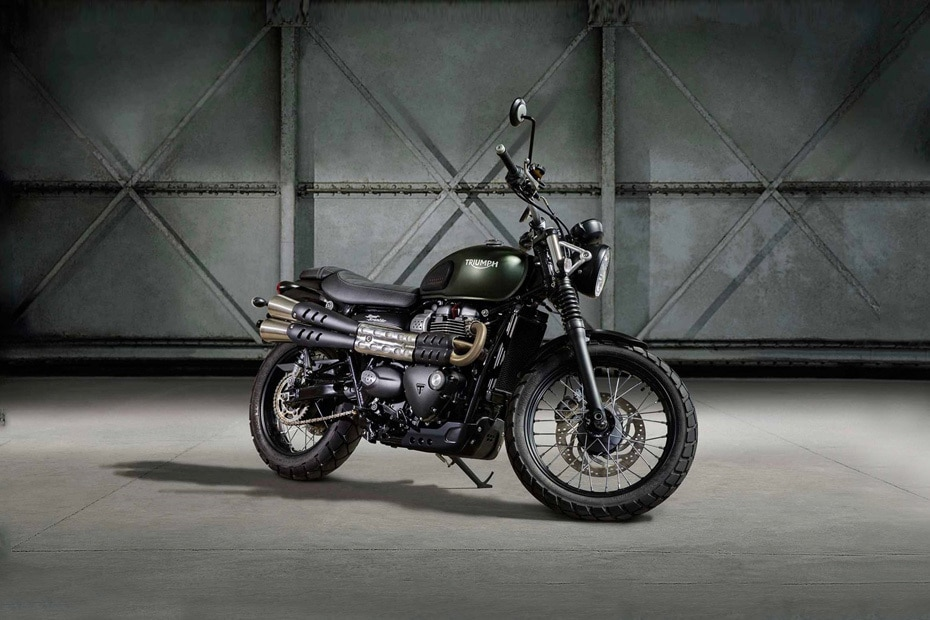 Triumph Street Scrambler Price, EMI, Specs, Images, Mileage and Colours