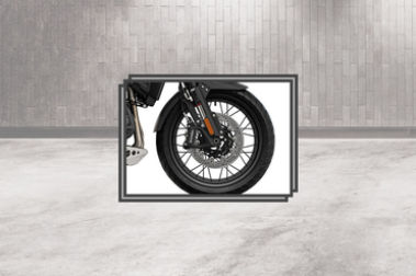Triumph Tiger 1200 Front Tyre View