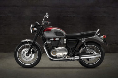 Triumph Bonneville T120 Left Side View