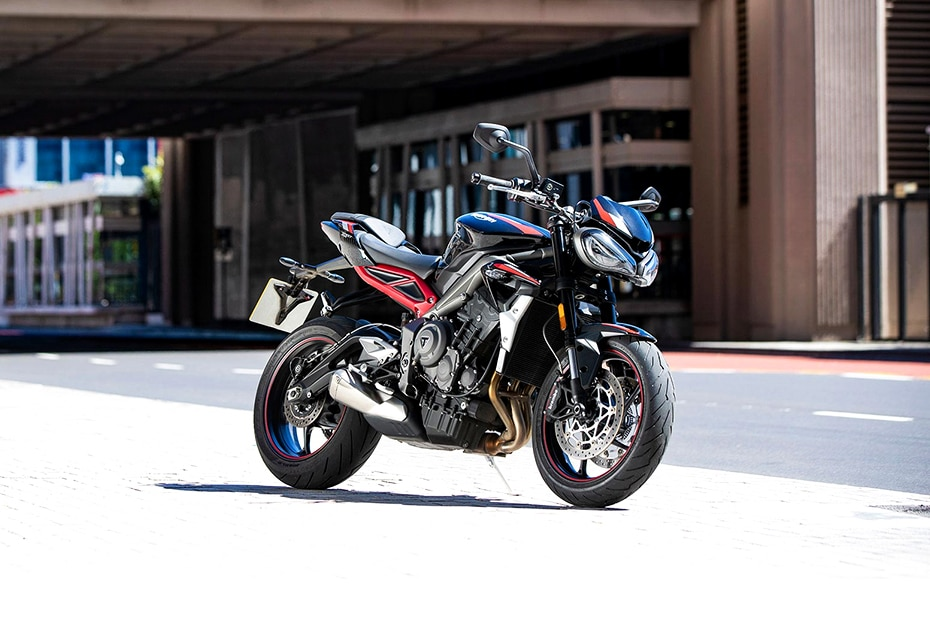 Triumph Street Triple Right Side View