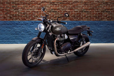 Triumph Street Twin Front Left View