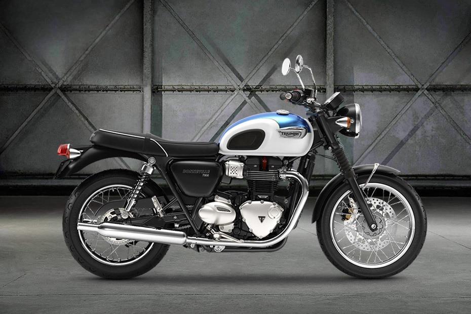 Triumph Bonneville T100 Right Side View