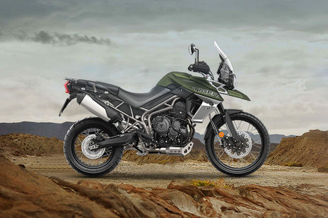 Triumph Tiger 800 Xcx Price Images Mileage Specs Features