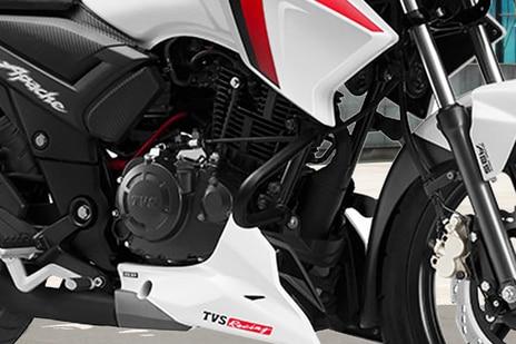 TVS Apache RTR 160 Engine