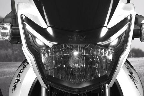 TVS Apache RTR 160 Head Light