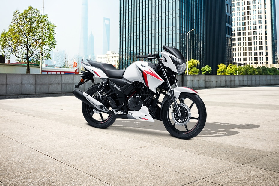 TVS Apache RTR 160 Front Right View