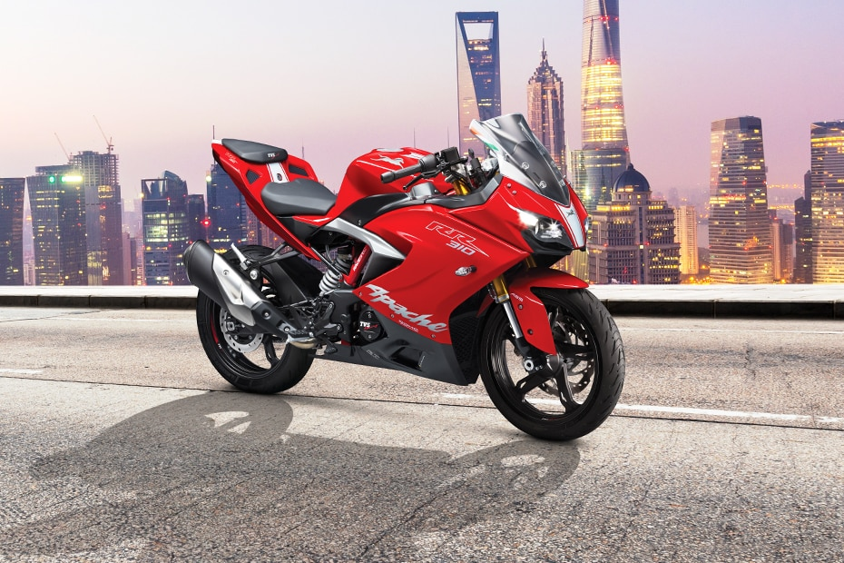 BS6 TVS Apache RR 310 Front Right View