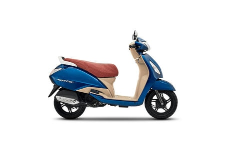 TVS Jupiter Grande Starlight Blue
