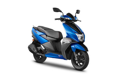TVS NTORQ 125 Metallic Blue