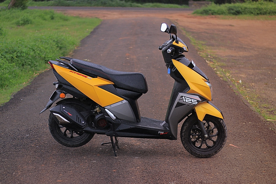 TVS NTORQ 125 Right Side View