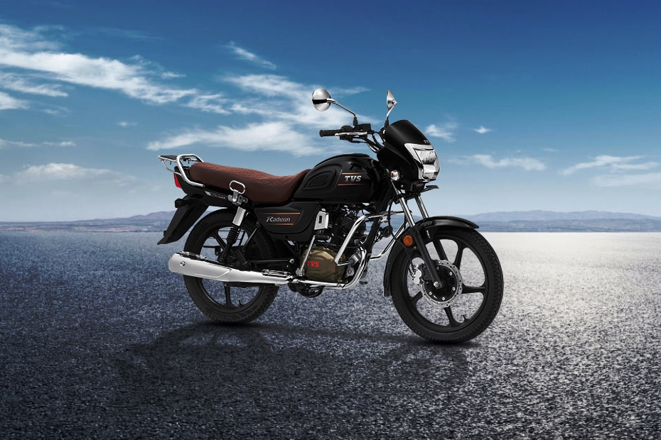 TVS Radeon Commuter Bike of the Year - Drum