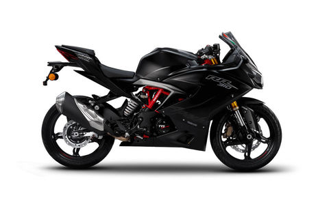 TVS Apache RR 310 Racing Black