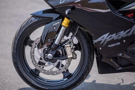 TVS Apache RR 310 Front Brake View