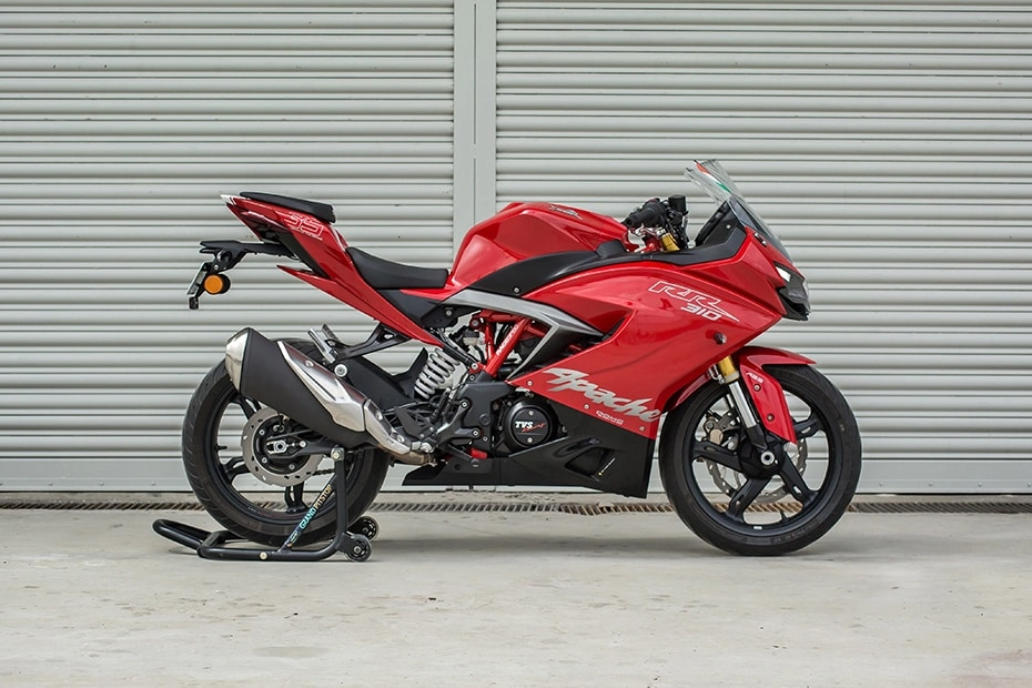 TVS Apache RR 310 Right Side View