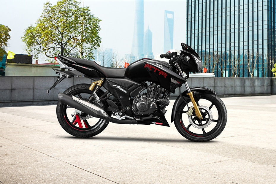 TVS Apache RTR 180 Right Side View