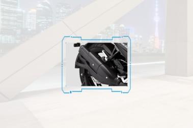 TVS Apache RTR 200 4V Exhaust View
