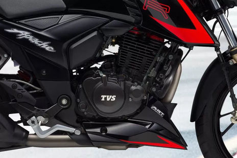TVS Apache RTR 200 4V Race Edition 2.0 Engine
