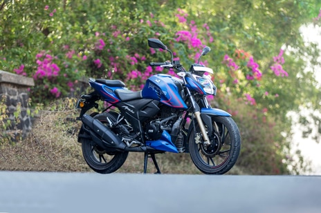 TVS Apache RTR 200 4V Single Channel ABS