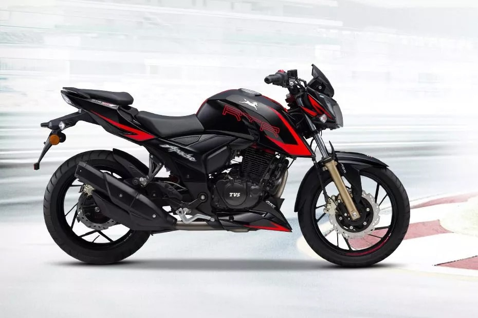 TVS Apache RTR 200 4V Race Edition 2.0 Right Side View