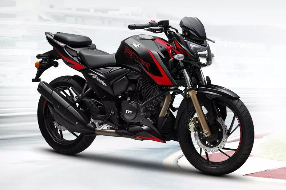 TVS Apache RTR 200 4V Race Edition 2.0 Front Right View