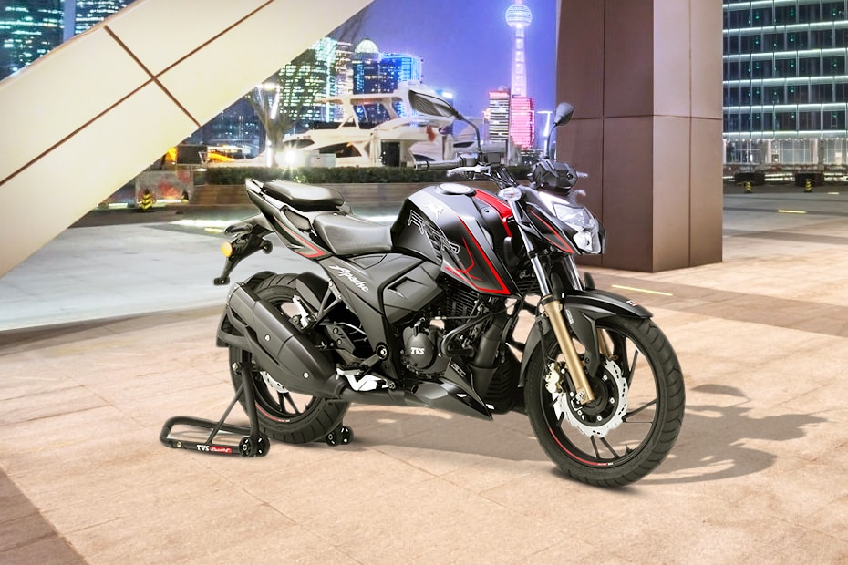 TVS Apache RTR 200 4V Front Right View