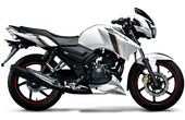 TVS Apache RTR 160 Double Disc