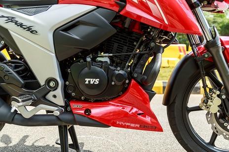 TVS Apache RTR 160 4V Engine