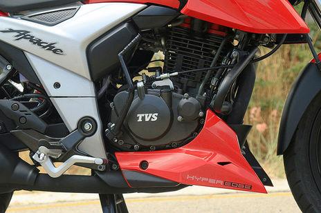 TVS Apache RTR 160 4V Dual Disc ABS