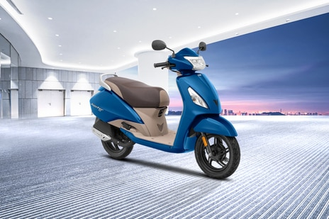 TVS Jupiter ZX Disc with i-TOUCHstart BS6 Price, Images, Mileage ...