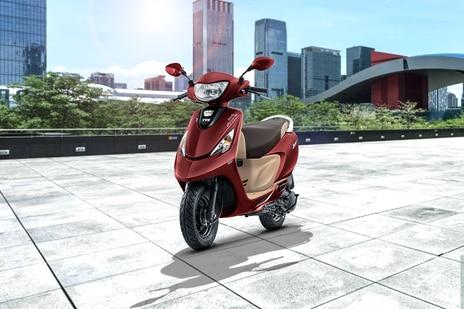 TVS Scooty Zest