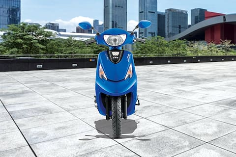 TVS Scooty Zest Front View